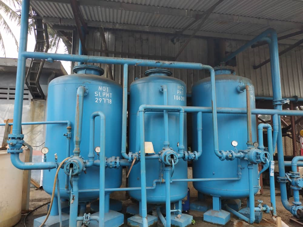 reverse osmosis system for water treatment